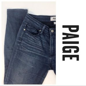 Paige Hoxton Ultra Skinny Jeans Size 27